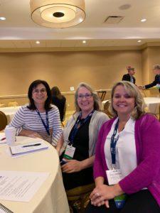 Leadership Attendees, Andrea, Angela and Tina