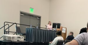 Tina DiMarino at ASCRS San Diego Conference 2019